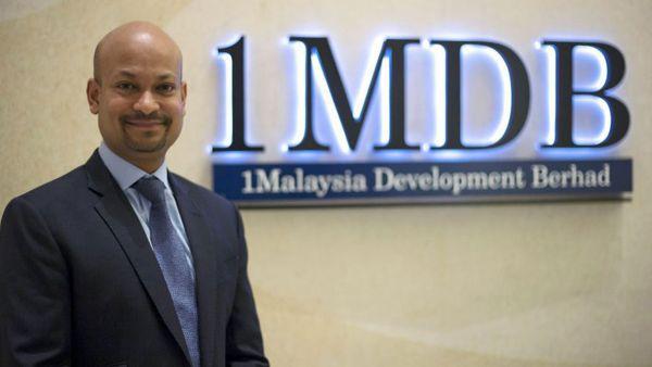 この詐欺師, 1MDBの最高経営責任者....彼の資産も 政府に凍結した, そのうえまた出国禁止 !!