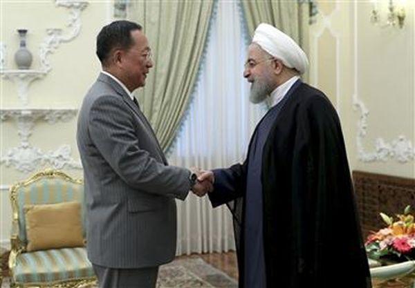 同じ穴のむじな, 烏合の衆 !....ワハハハ ! イランのロウハニ大統領と北朝鮮の李容浩(外相