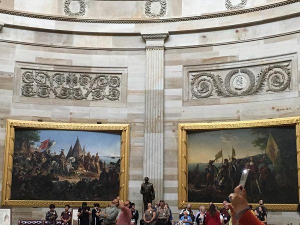 国議会議事堂の内部