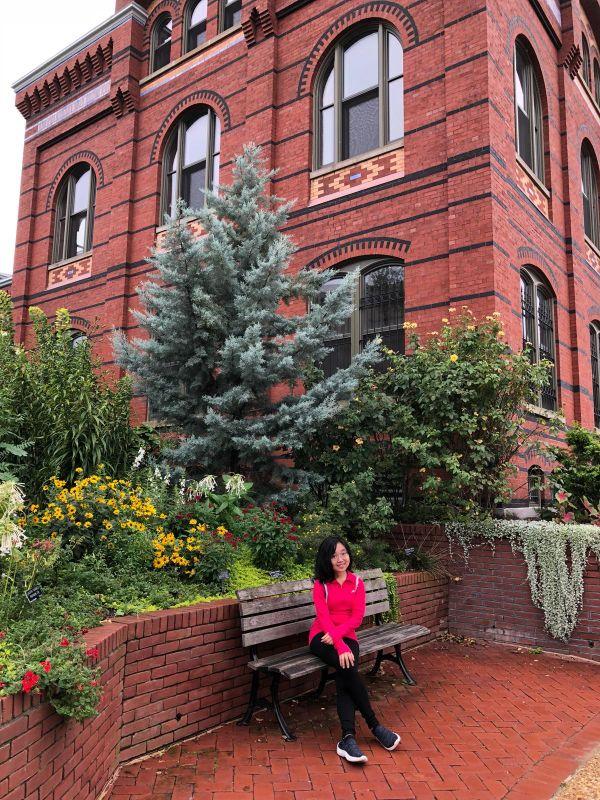スミソニアン博物館の外側