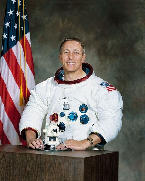 宇宙飛行士ジャック・スワイガート, 1931年8月30日-1982年12月27日
