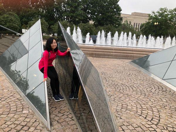 リンカーン記念堂の外側