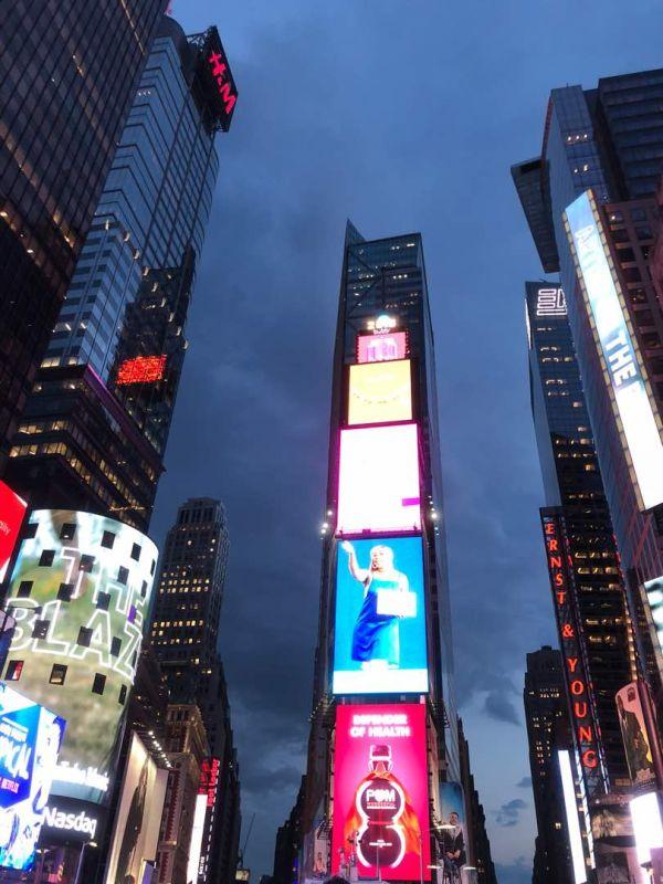 ニューヨークの夜景....タイムズスクエア
