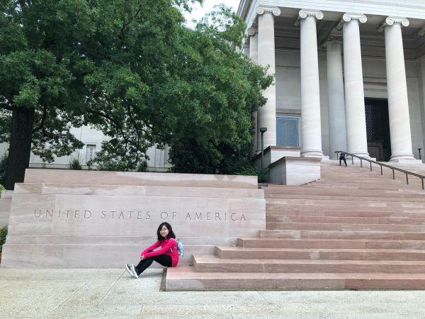 ジェファーソン記念館の外側